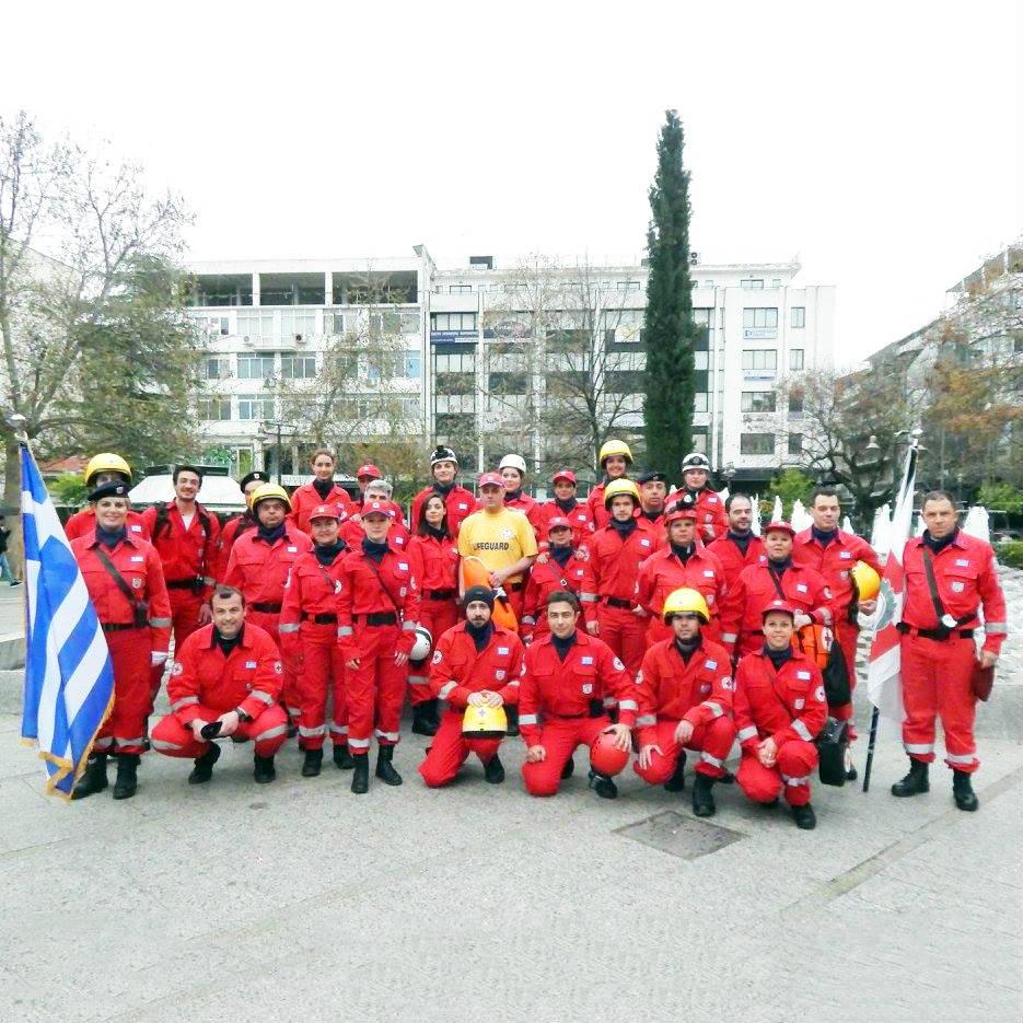 Σαμαρείτες Ερυθρού Σταυρού Λάρισας