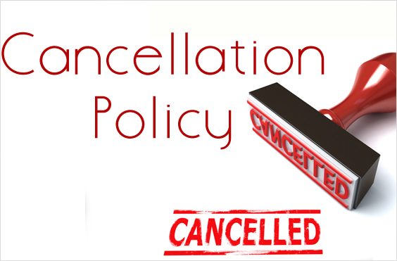 Cancelation Policy